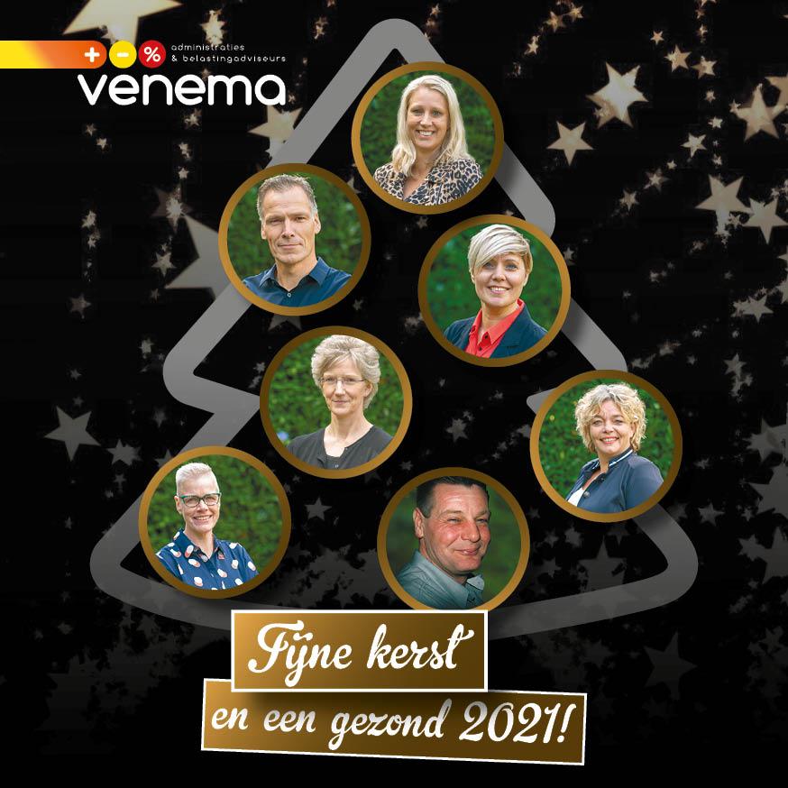 Kerstvakantie: 21 december t/m 1 januari gesloten